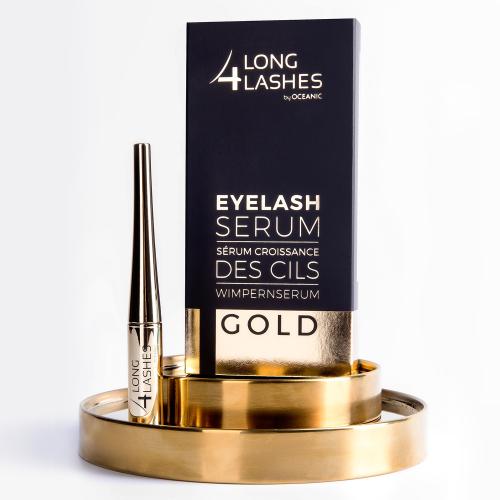 LONG 4 LASHES GOLD Eyelash Serum, 4ml