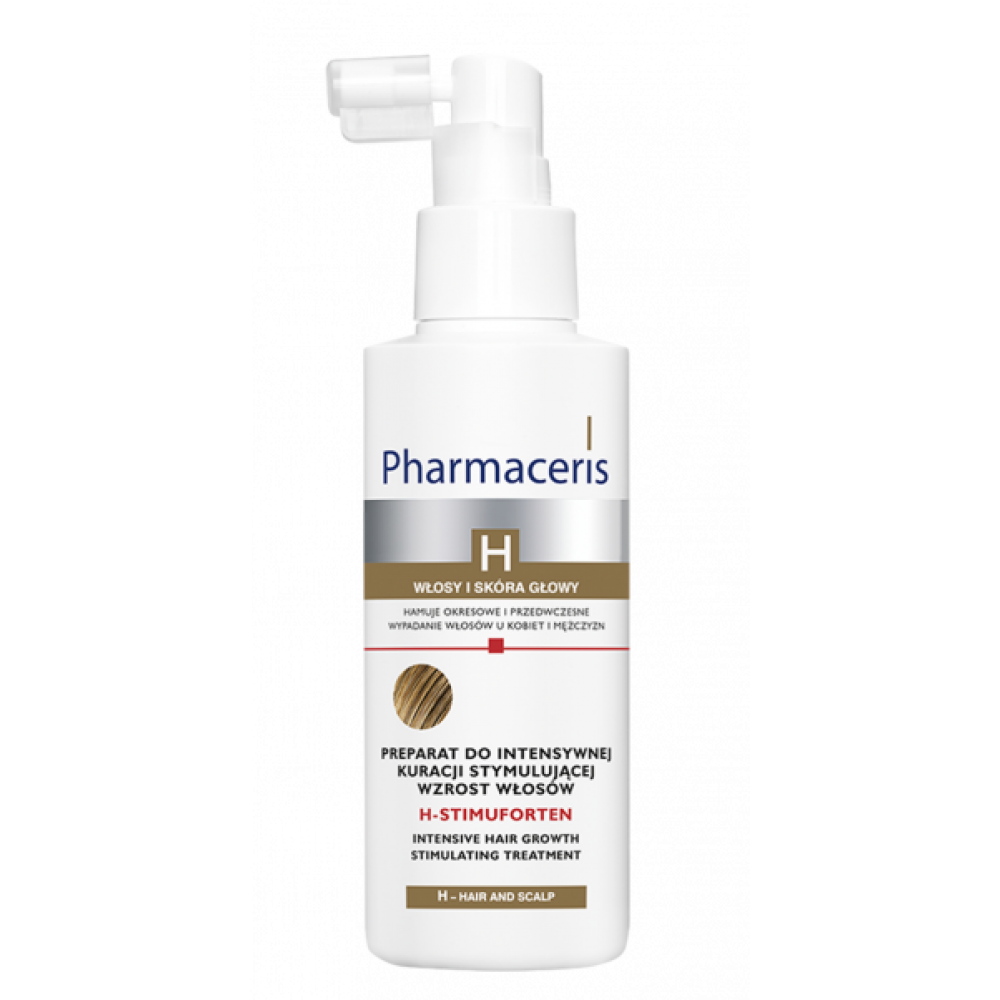 PHARMACERIS H intensive hair growth stimulating treatment H-STIMUFORTEN, 125ml