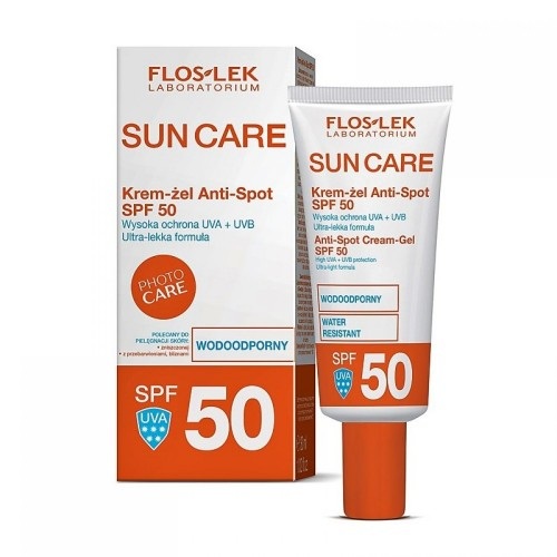 SUN CARE Anti-Spot Cream-Gel SPF 50, 30ml