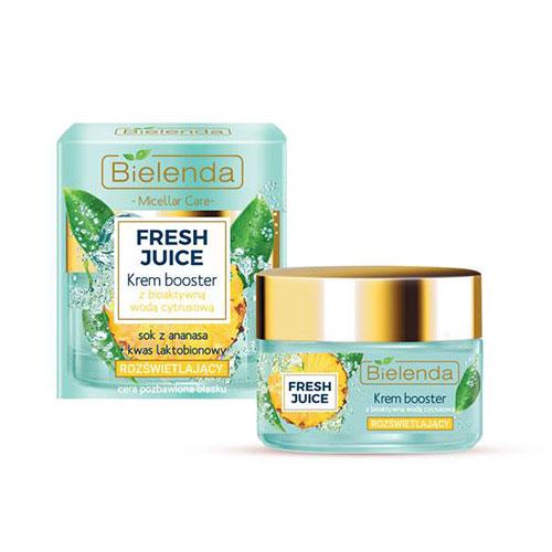 BIELENDA FRESH JUICE Pineapple juice booster cream 50g