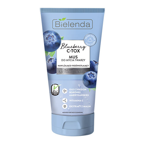BIELENDA BLUEBERRY C-TOX cleansing face wash 135 g