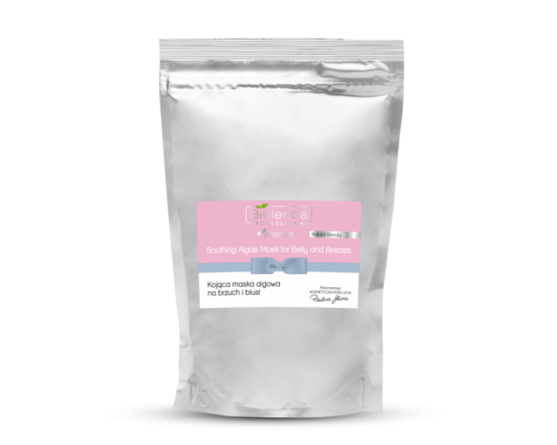 BIELENDA PROFESSIONAL Soothing algae mask for belly and breasts, 500g