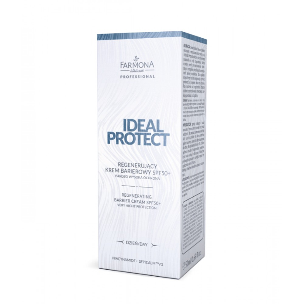 IDEAL PROTECT Regenerating barrier cream high protection spf50+, 50ml
