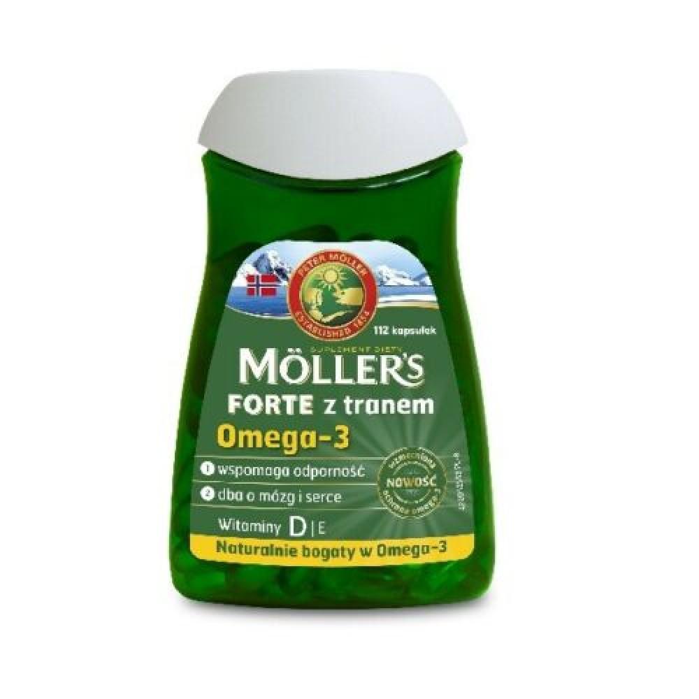 MOLLERS FORTE fish oil Omega-3 112 caps