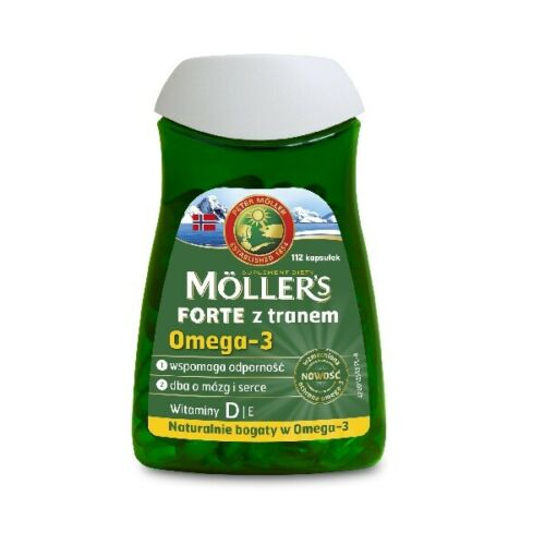 MOLLERS FORTE fish oil Omega-3 112 caps