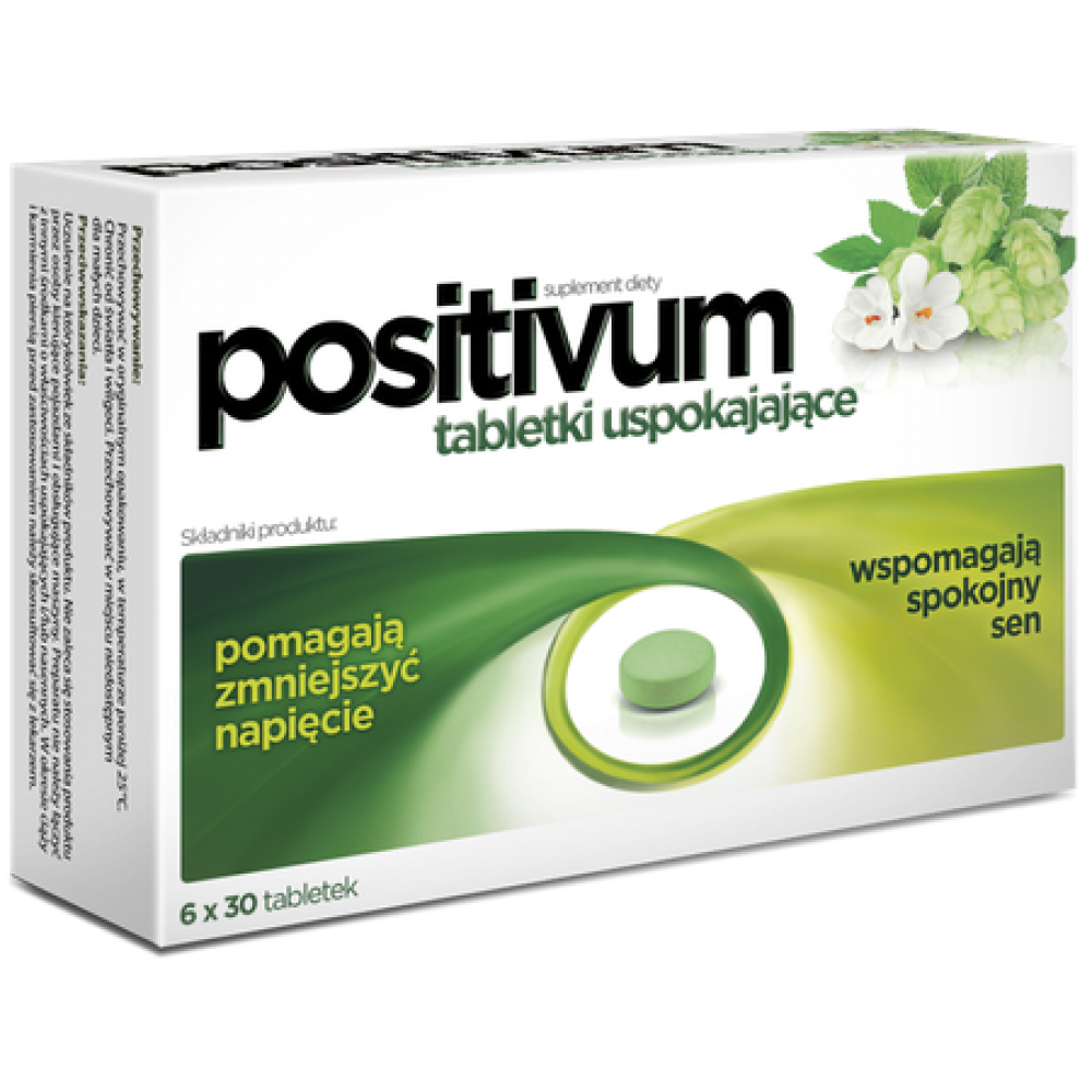 AFLOFARM Positivum calming tablets