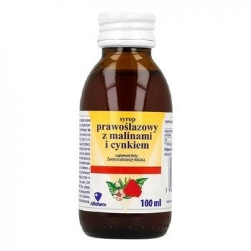 AFLOFARM MARSHMALLOW SYRUP WITH RASPBERRIES AND ZINK 100ML