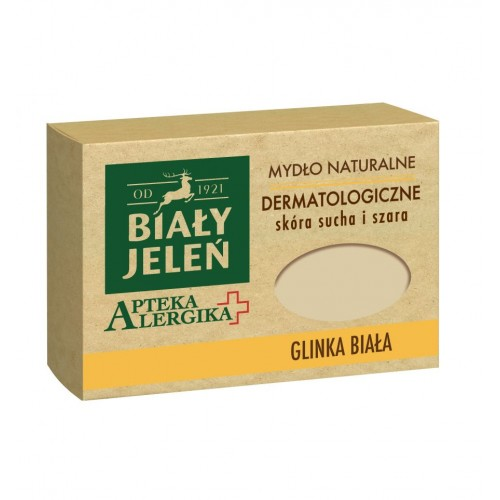 Biały Jeleń dermatological soap with white clay Apteka Alergika 125g
