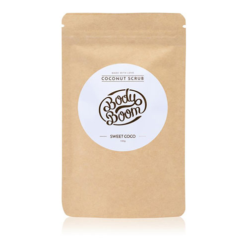 BODY BOOM Sweet Coco coffee scrub 100g