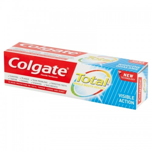 Colgate Total Visible Action Toothpaste 75 Ml