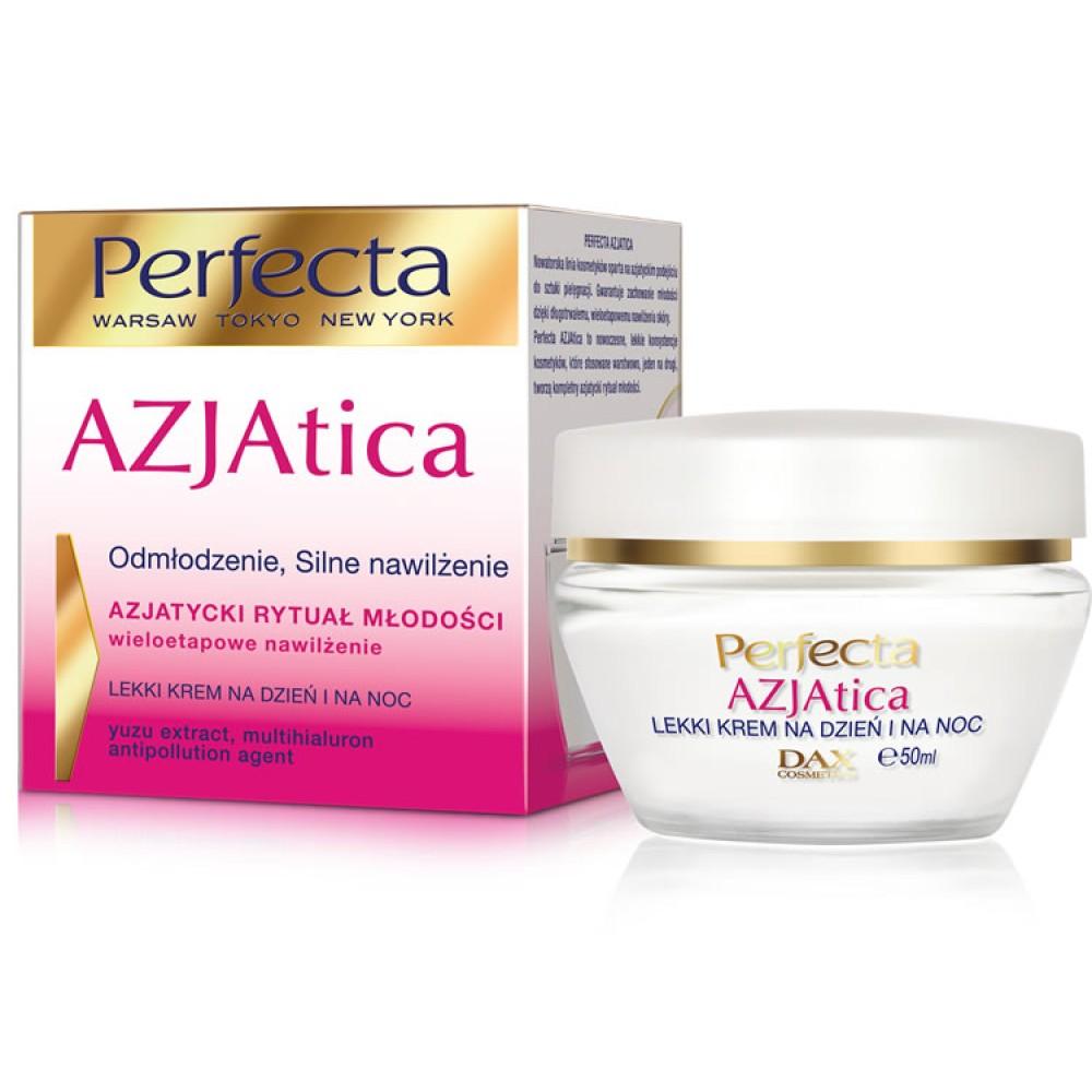 Dax Perfecta Azjatica Light Cream Rejuvenation STRONG HYDRATION Day / night 50 ml
