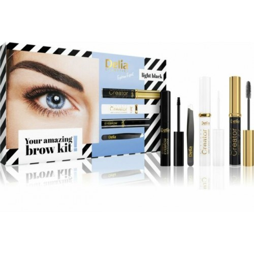 Delia Cosmetics  Eyebrow Expert Set Light black
