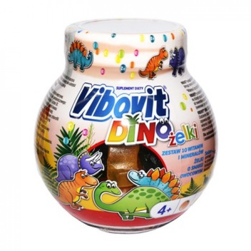 Vibovit Dino Jellies Vitamins and Minerals Children 50pcs.
