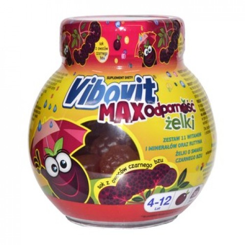 Vibovit Max Resistance Jelly - 50 pieces, 225g