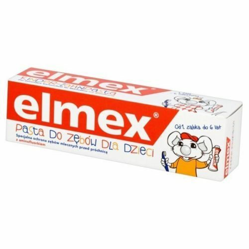Elmex, toothpaste for children from 1-6 years old, 50ml