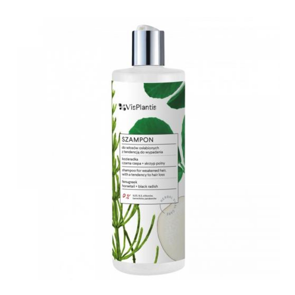 Vis Plantis shampoo for weakened hair, with a tendency to hair loss, fenugreek 400ml