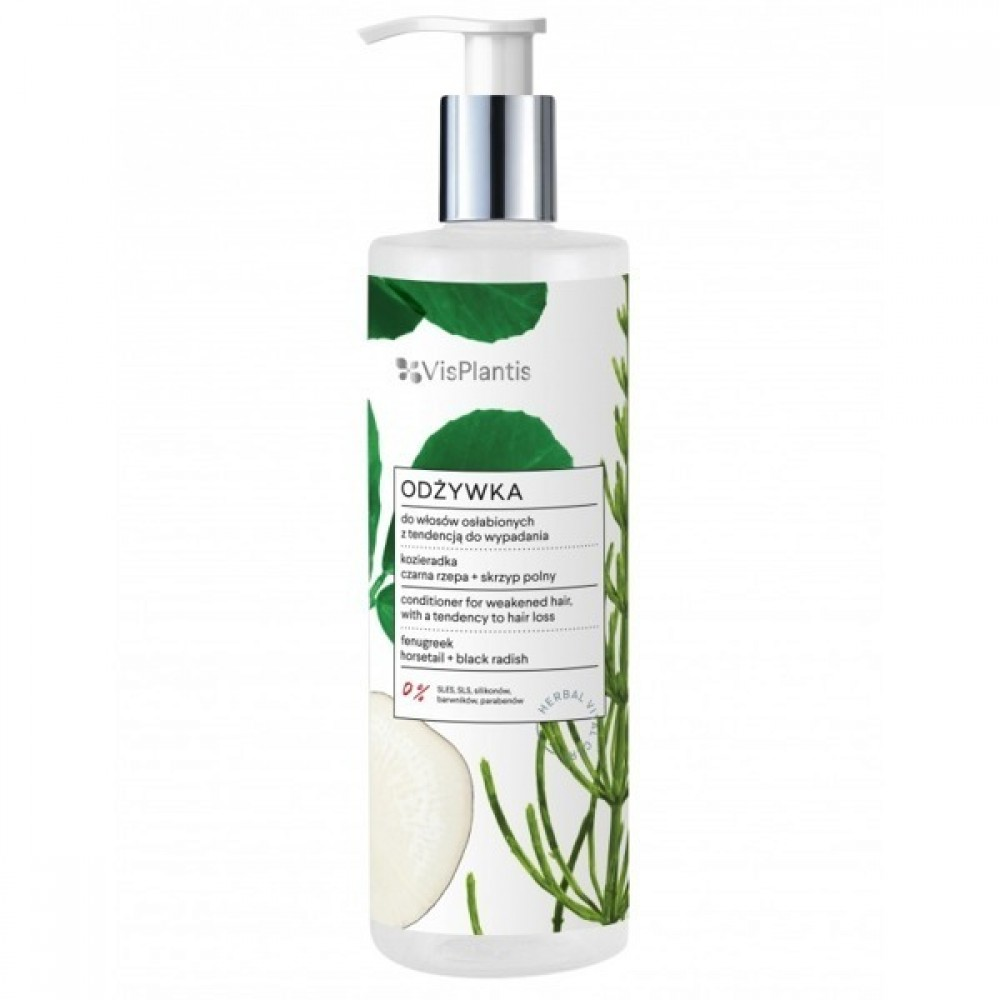 Vis Plantis conditioner for weakened hair, with a tendency to hair loss, fenugreek 400ml