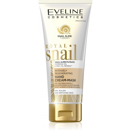 EVELINE ROYAL SNAIL INTENSELY REGENERATING HAND CREAM-MASK FOR DRY, ROUGH AND IRRITATED SKIN 100ml