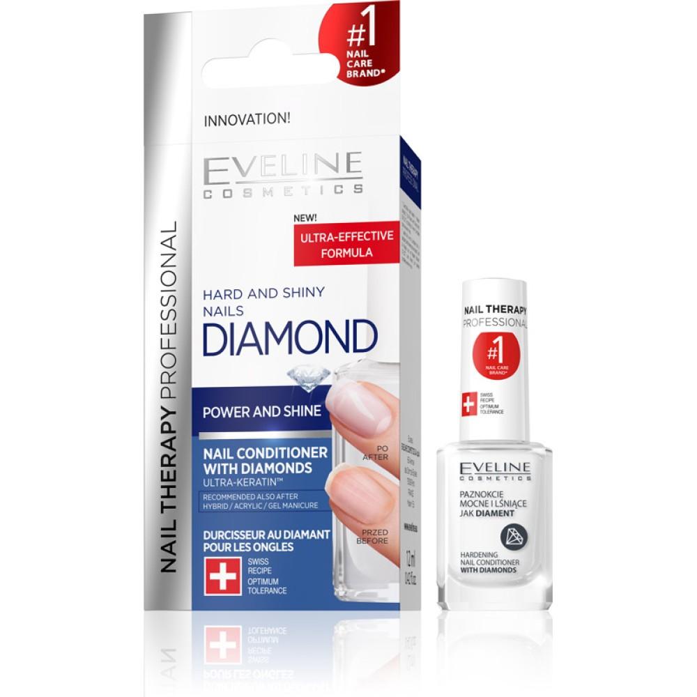 NAIL THERAPY DIAMOND HARD AND SHINY NAILS, 12ml
