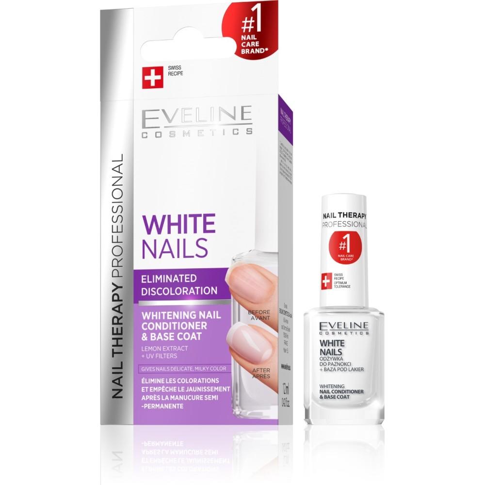 EVELINE WHITENING AND SMOOTHENING NAILS TREATMENT 12ml