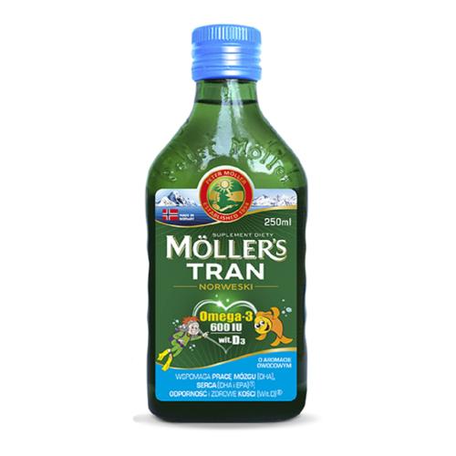 Mollers Norwegian fruit fish oil 250ml