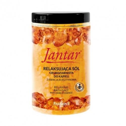 FARMONA  JANTAR Relaxing bath salt with amber essence, 500g