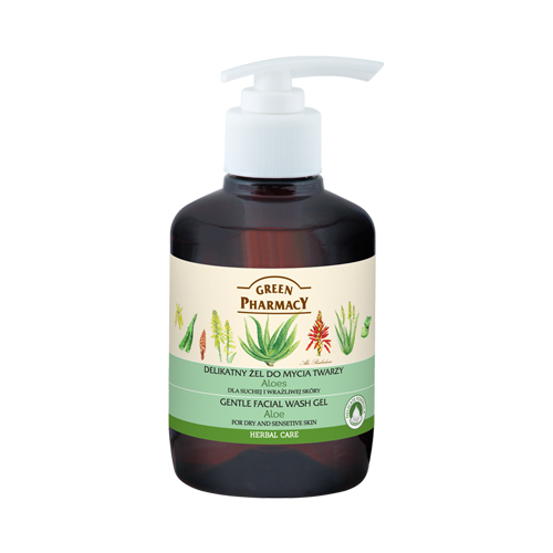 GREEN PHARMACY gentle facial wash gel Aloe 270 ml