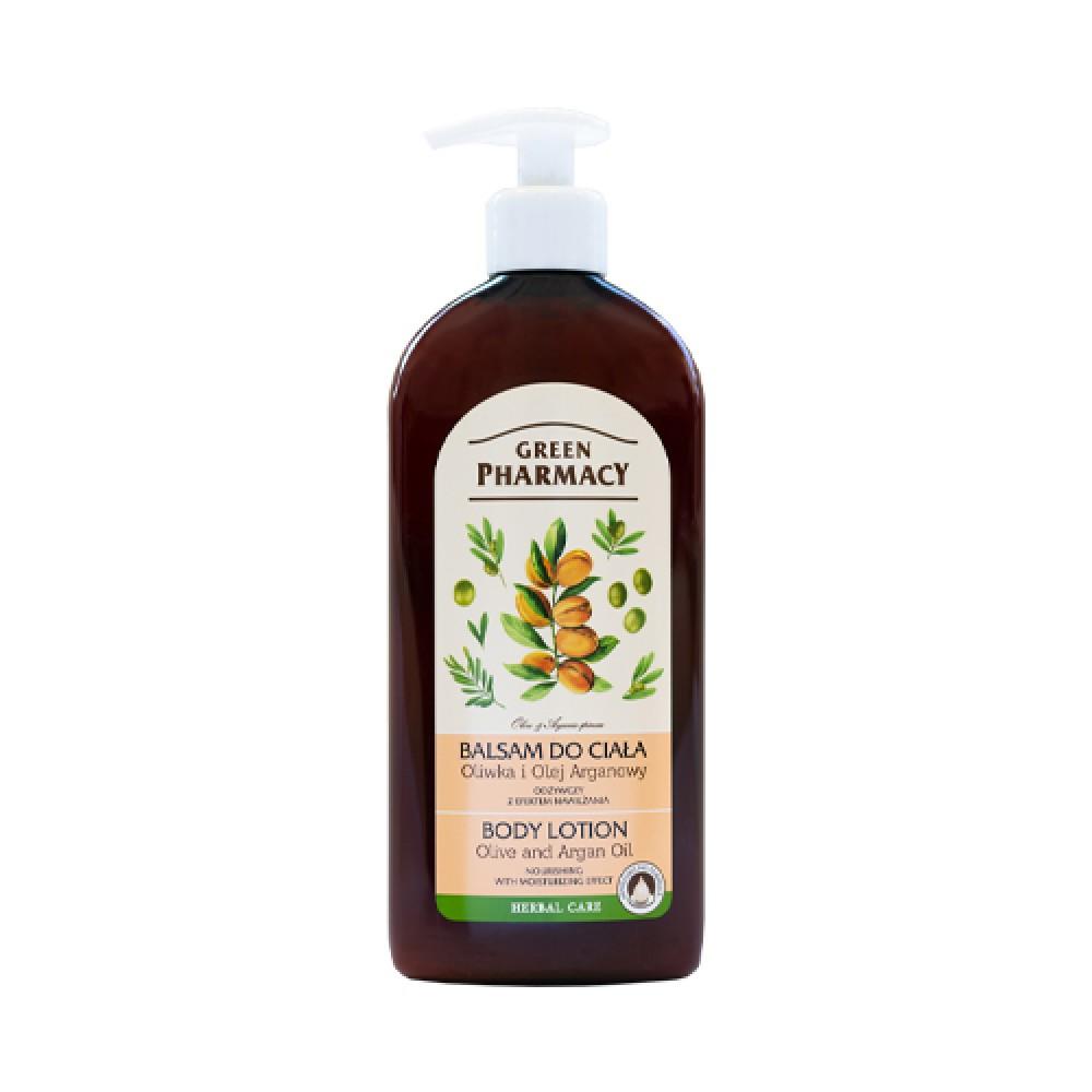 Elfa Pharm, Body lotion, olive and argan oil, 500 ml
