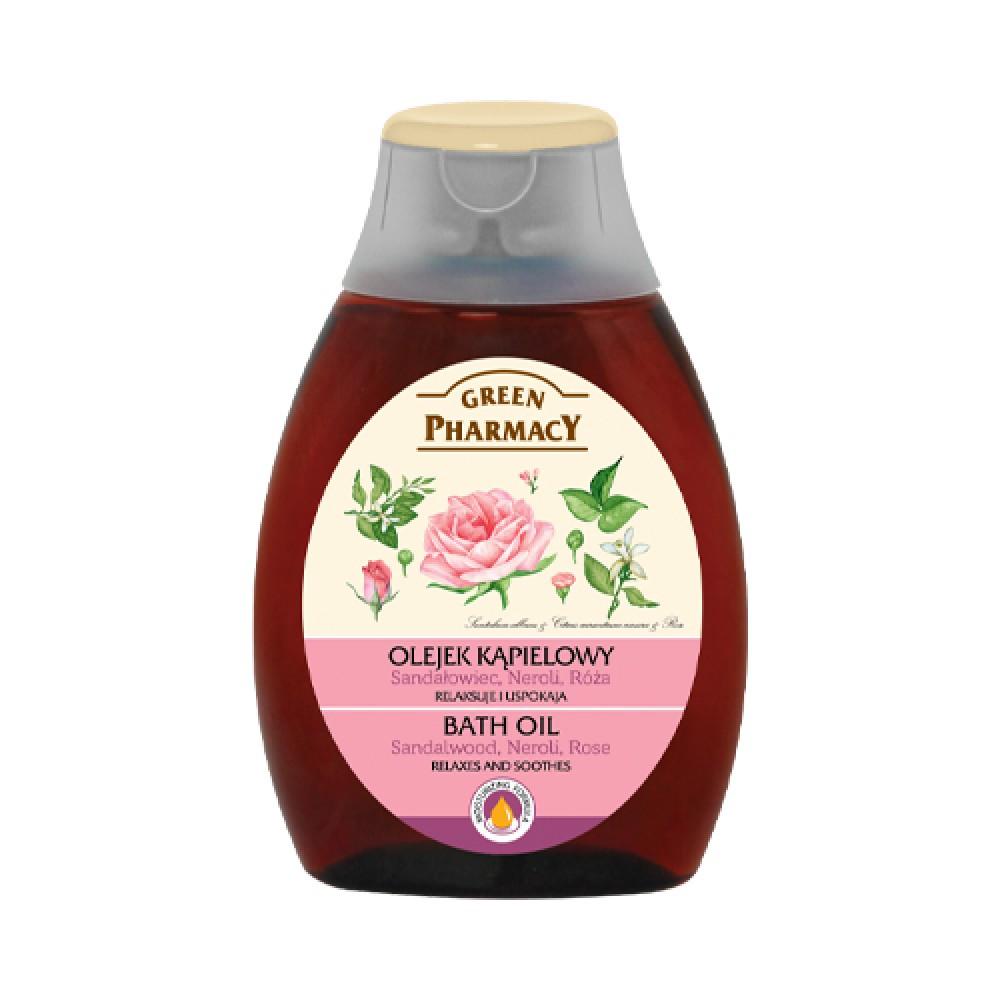 Elfa Pharm Bath oil, sandalwood, neroli and rose, 250 ml
