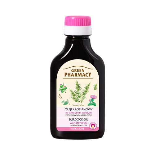 GREEN PHARMACY Burdock Oil with Horsetail 100 ml