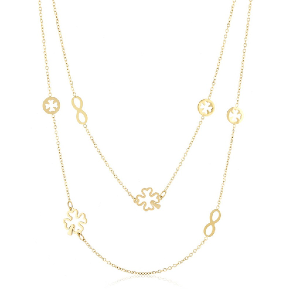 XUPING STAINLESS STEEL NECKLACE 4946