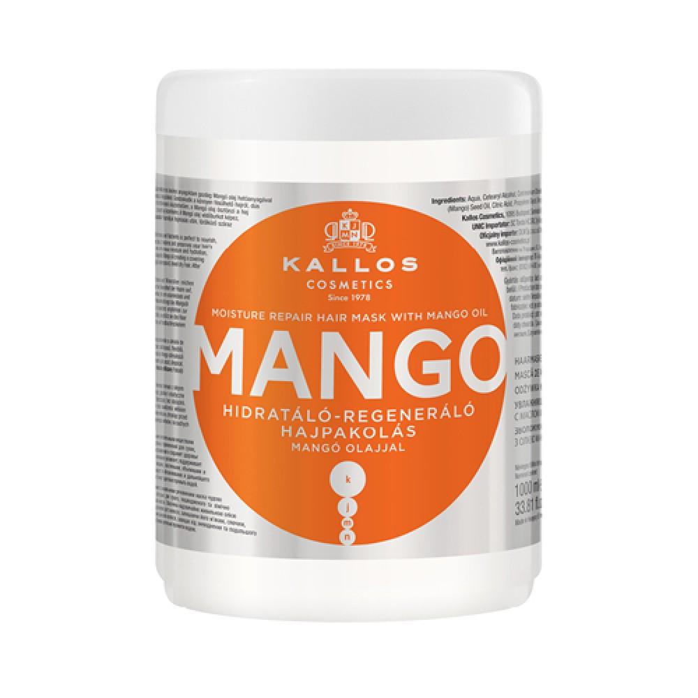 KALLOS MOISTURE REPAIR HAIR MASK WITH MANGO OIL 1000 ml