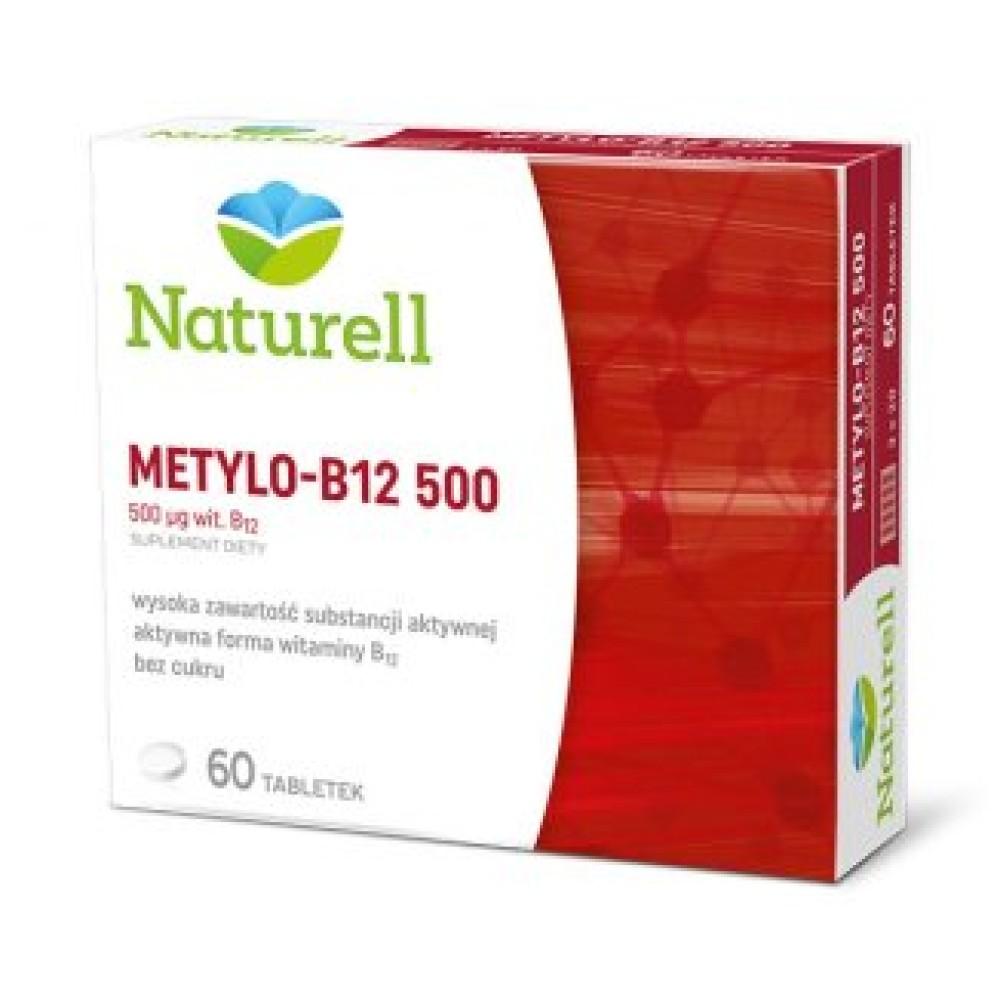 NATURELL METYLO-B12 500 60 TABL