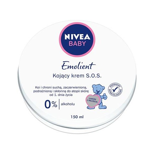 NIVEA BABY Emollient Soothing cream S.O.S, 150 ml