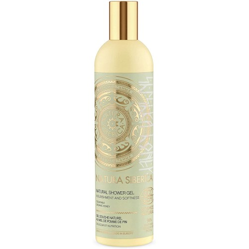 Natura Siberica Shishka Honey Natural Shower Gel, 400 ml