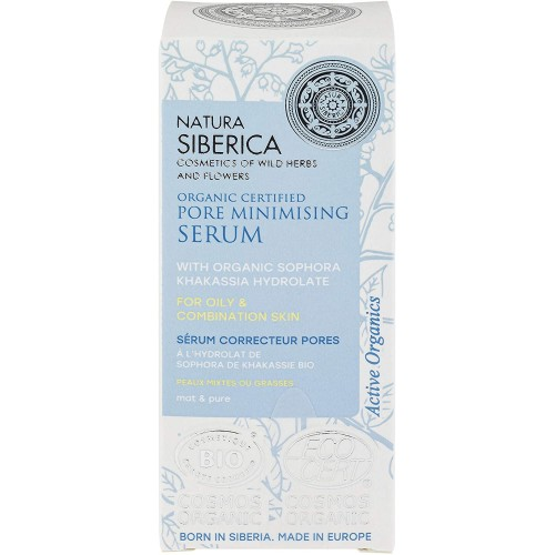 Natura Siberica Organic Certified Pore Minimising Serum 15ml