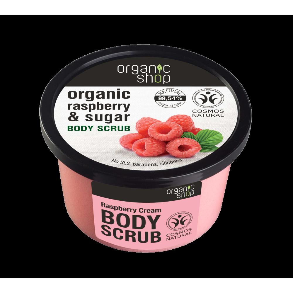 Organic shop Raspberry Cream Body Scrub 250ml
