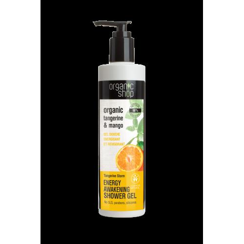 Organic shop Tangerine Storm Energy Shower Gel 280ml