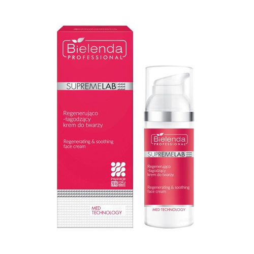SupremeLAB POST TREATMENT CARE regenerating & soothing face cream 50 ml