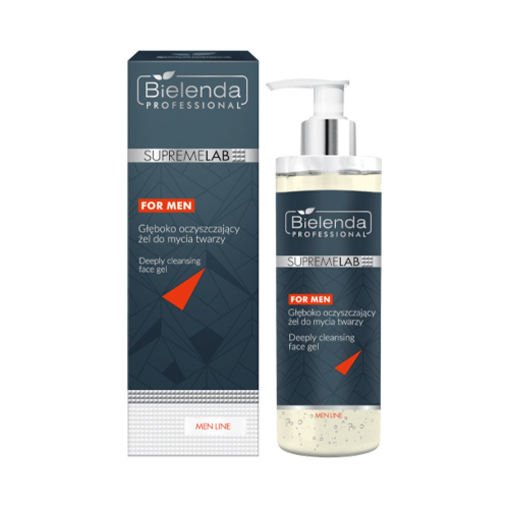 SupremeLAB MEN LINE Deeply cleansing face gel 200 g