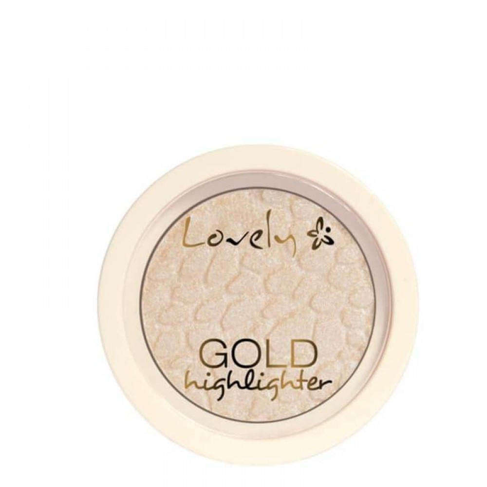 WIBO LOVELY GOLD FACE HIGHLIGHTER COOL SHADE