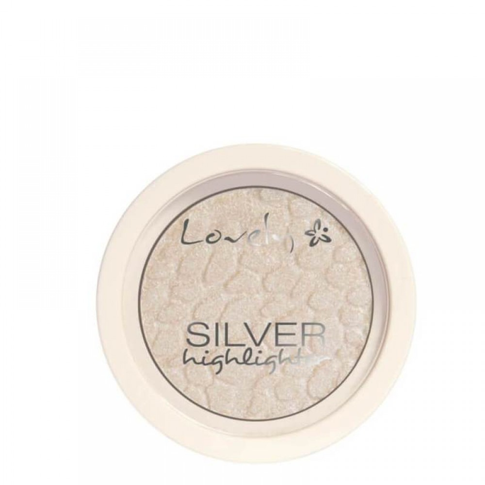 WIBO LOVELY SILVER FACE HIGHLIGHTER COOL SHADE