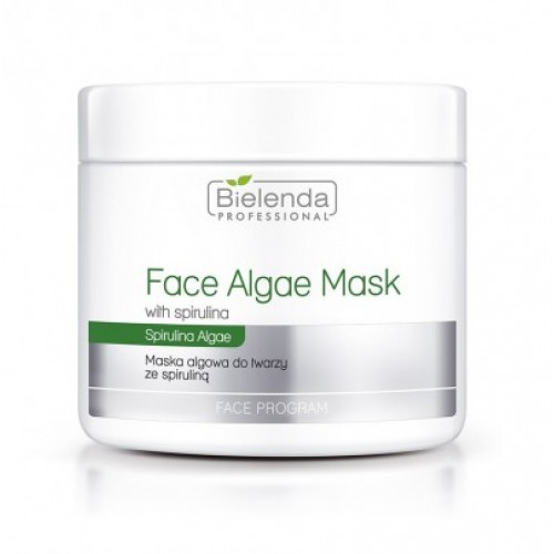 BIELENDA PROFESSIONAL Face Mask Algae with spirullin,  190g