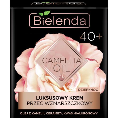 CAMELLIA OIL Luxurious anti-wrinkle cream 40+ day/night, 50 ml