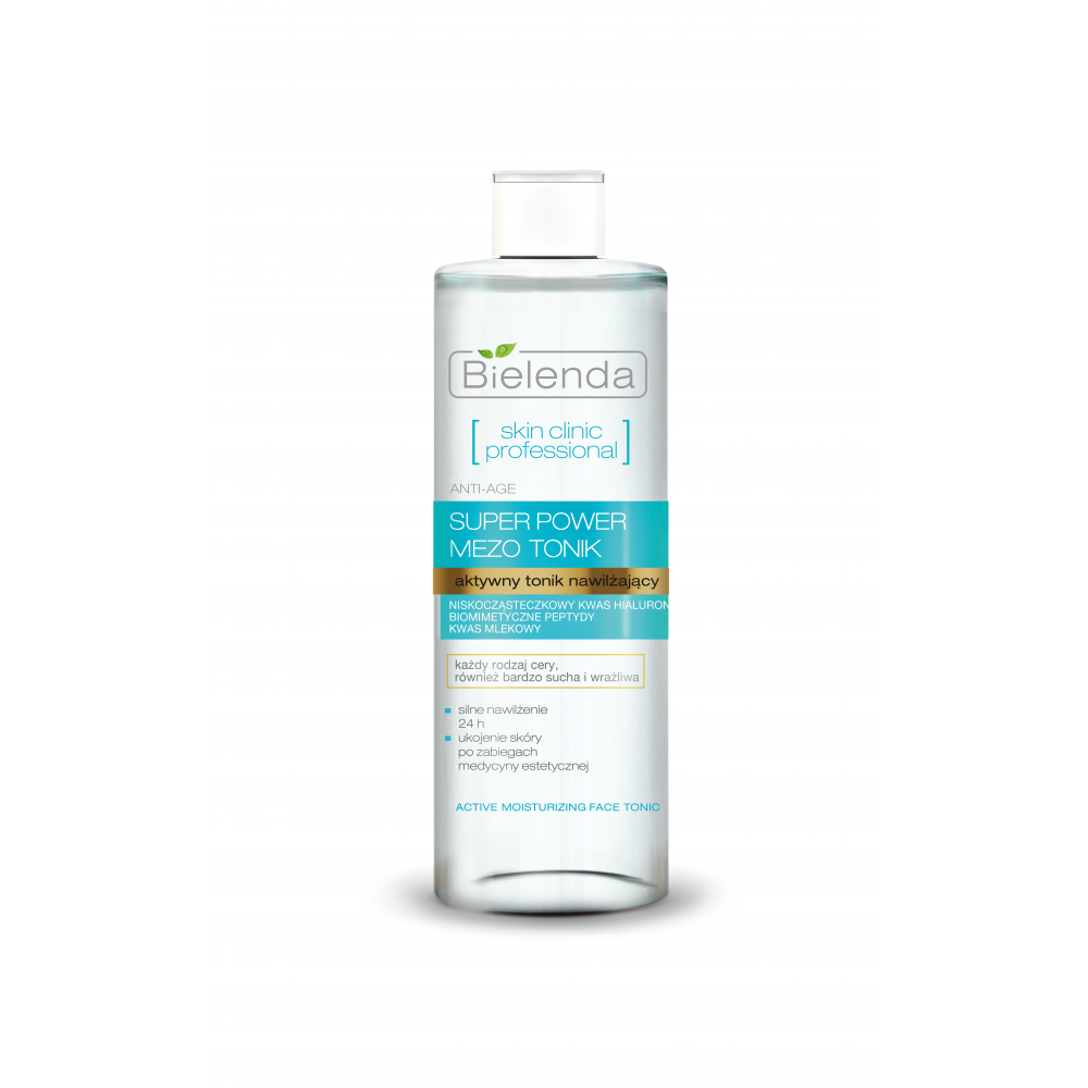 SKIN CLINIC PROFESSIONAL Actively Hydrating ANTI-AGE Toner, 200ml