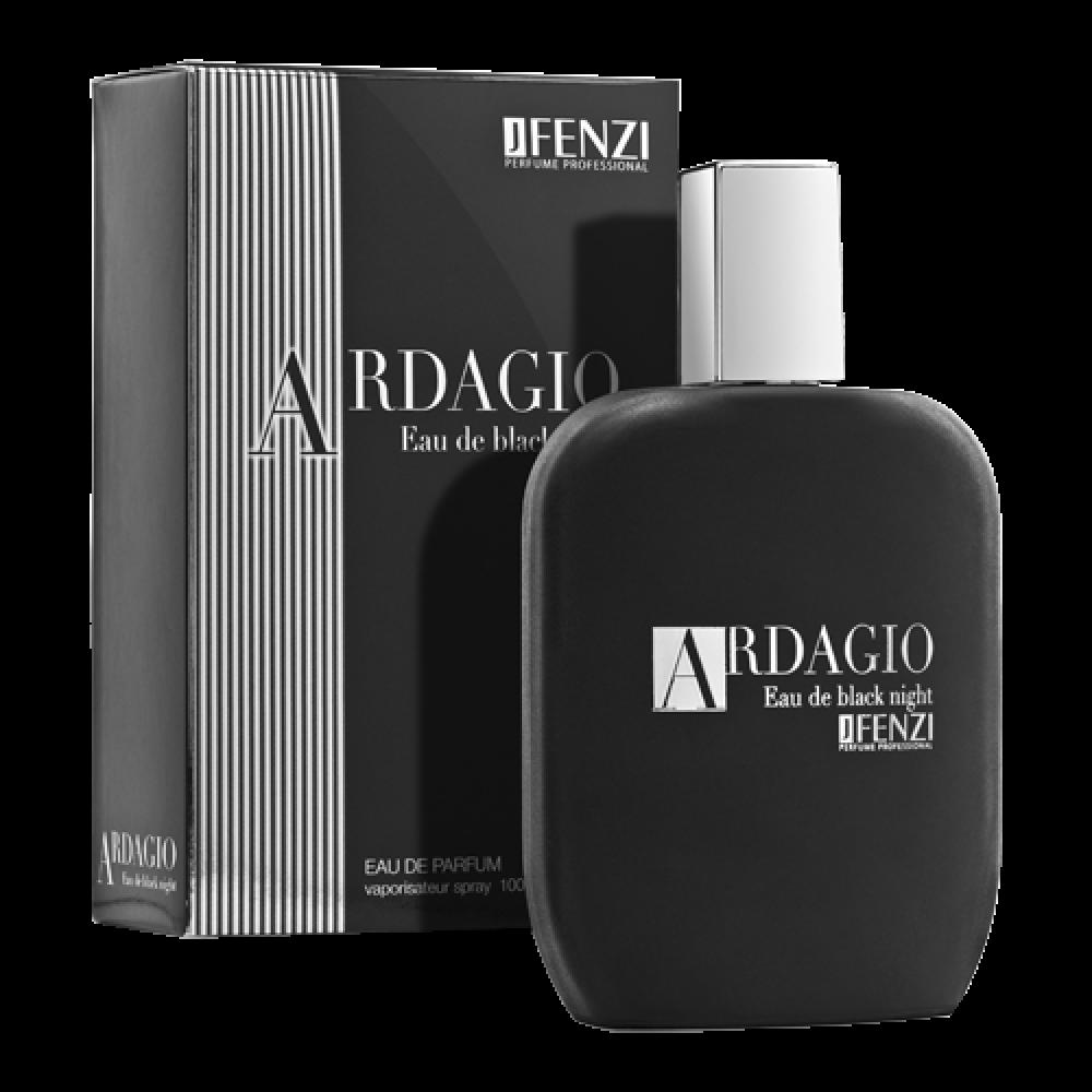 ARDAGIO EAU DE BLACK NIGHT, EDP 100 ml