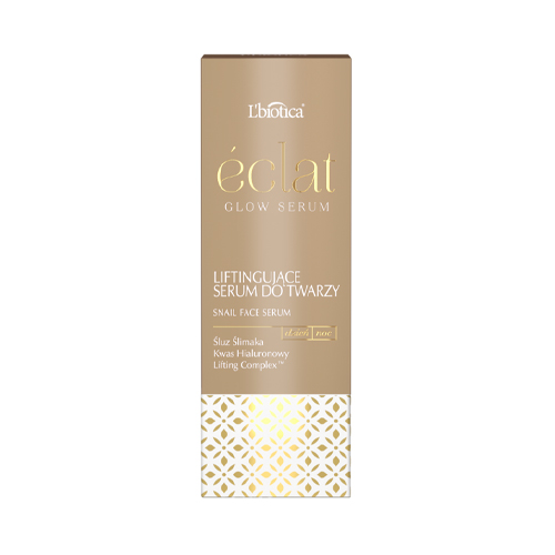 L'BIOTICA ECLAT GLOW LIFTING SNAIL FACE SERUM 15 ml