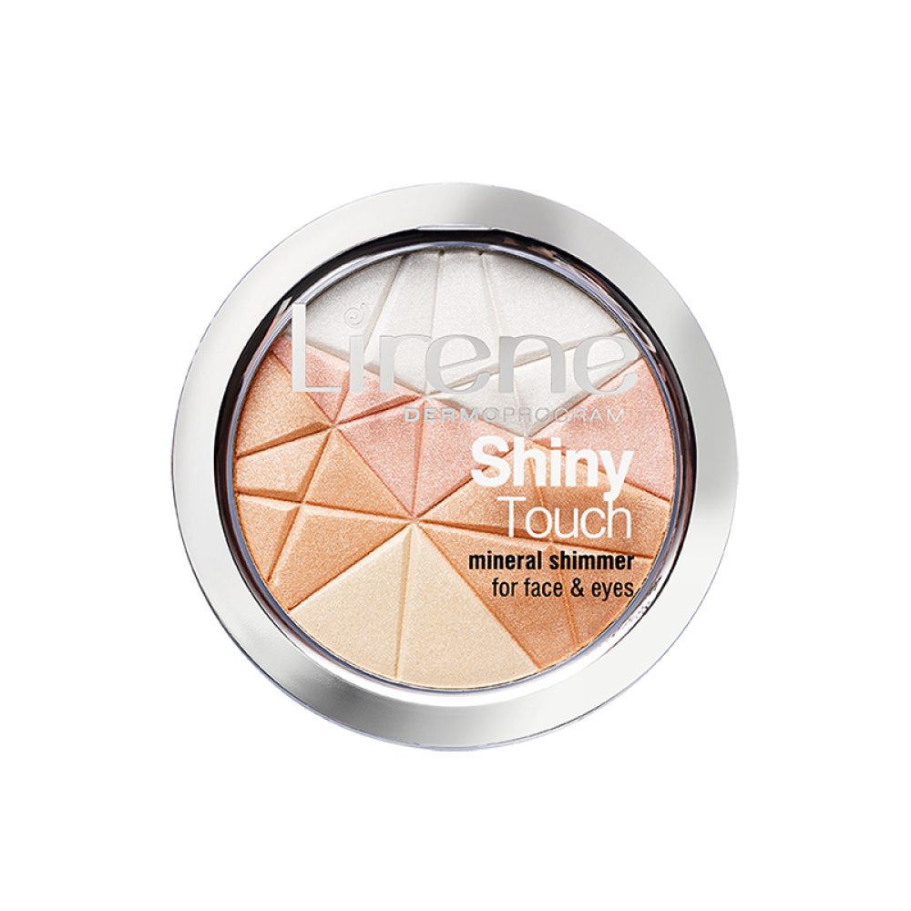 LIRENE, SHINY TOUCH Mineral shimmer for face and eyes, 9g