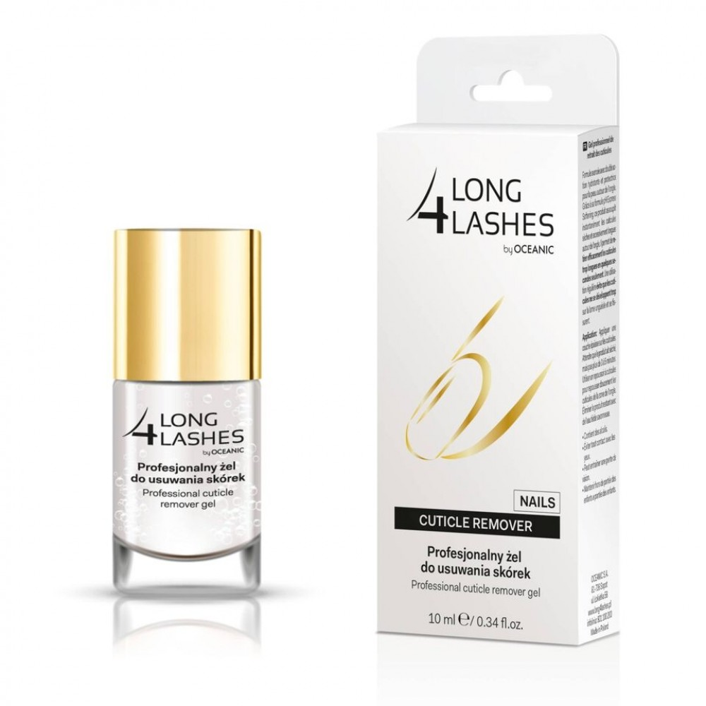 LONG 4 LASHES PROFESSIONAL CUTICLE REMOVER GEL, 10ml