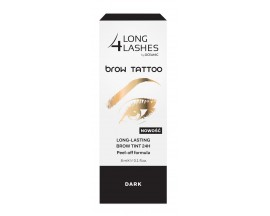 LONG 4 LASHES Brow Tattoo- dark, 8ml